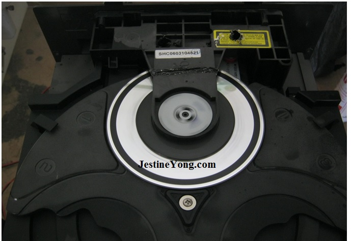 how to repair 3 cd changer