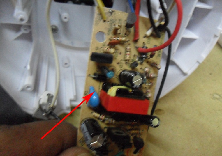 how to repair lantern power supply
