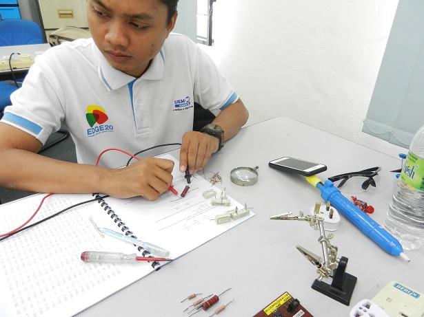 checking resistor