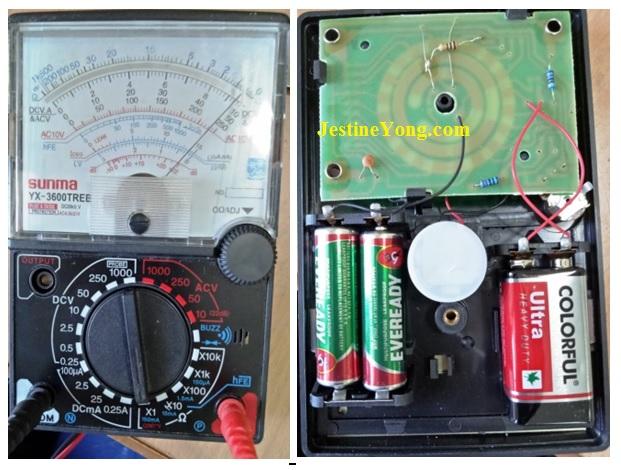 sunwa multimeter repair