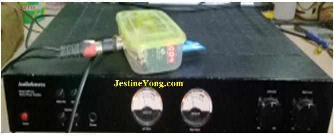 amplifier audiosource repair
