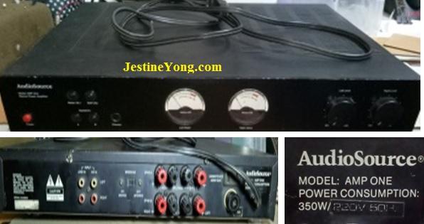 audiosource amp repair