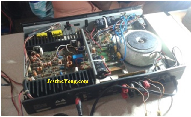 fixing amplifier