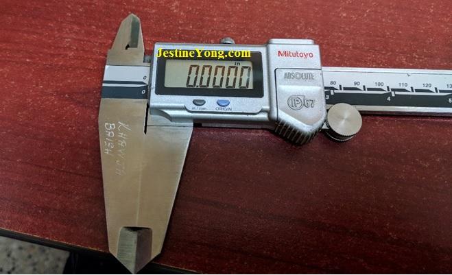 how to fix and repair mitutoyo digital caliper