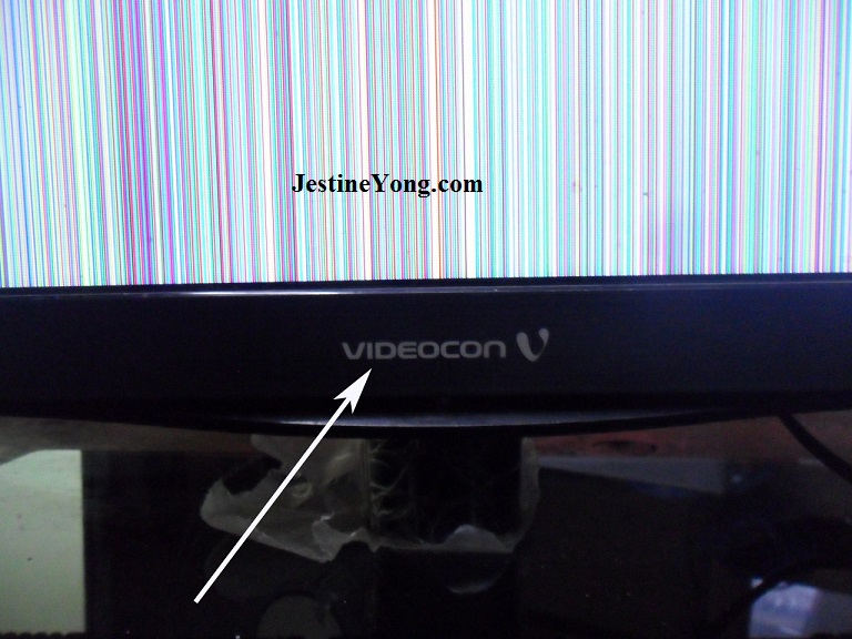 how to fix led tv