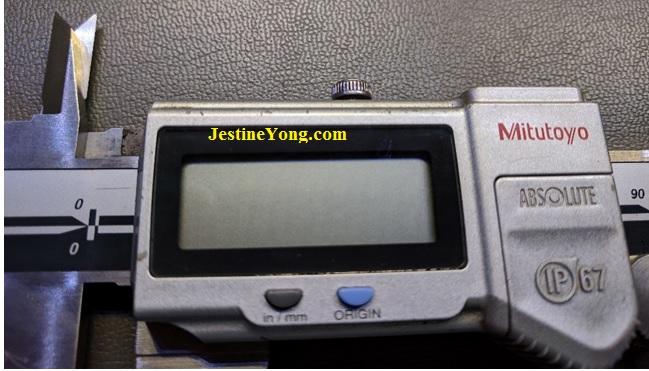 how to repair Mitutoyo digital caliper