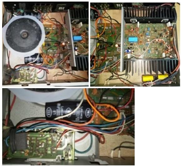 how to repair audiosource amplifier