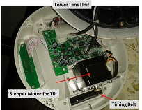 how to repair cctv camera circuit board
