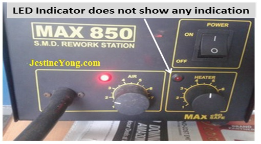how to repair hot air rework station