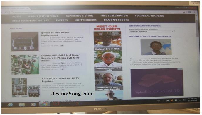 jestine yong website