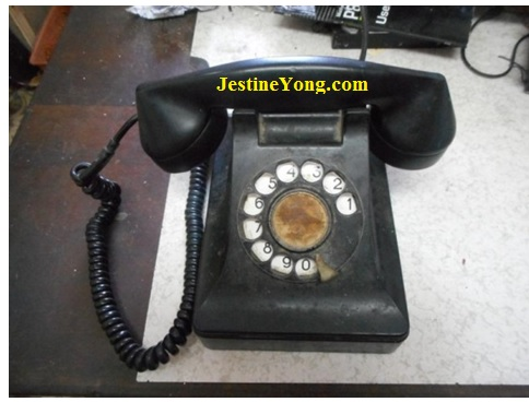 old telephone repair