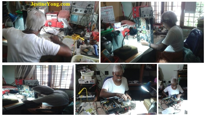 parasuraman repairing amplifier