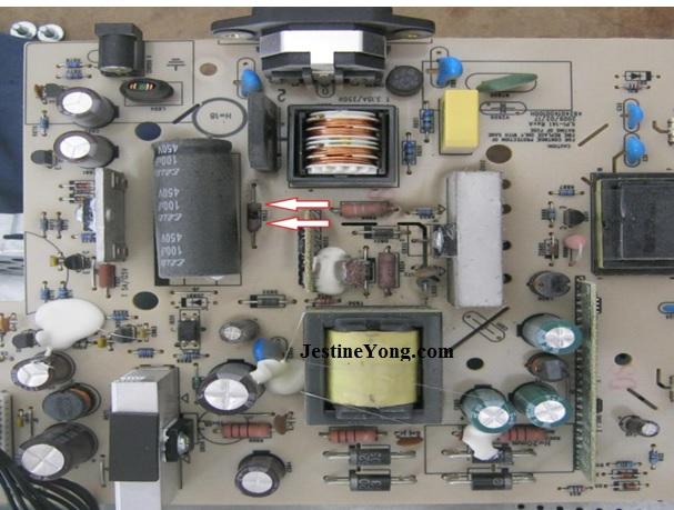 repairing dell lcd monitor