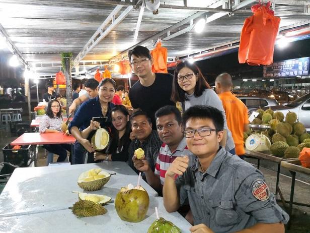 durian feast