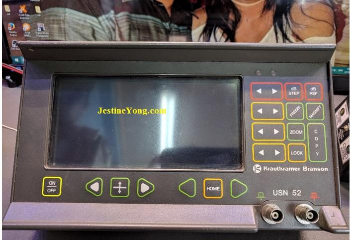 USN 52 Krautkramer Branson Flaw Detector Battery Charging Circuit Repair