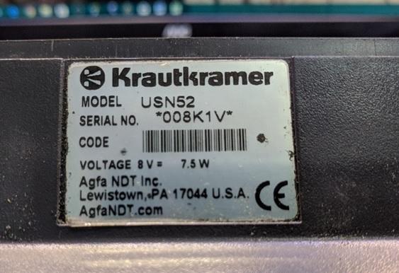 USN 52 Krautkramer Branson Flaw Detector Battery Charging Circuit fix