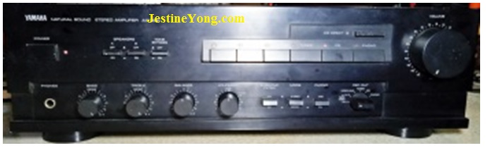 how to fix ax-530 yamaha amp