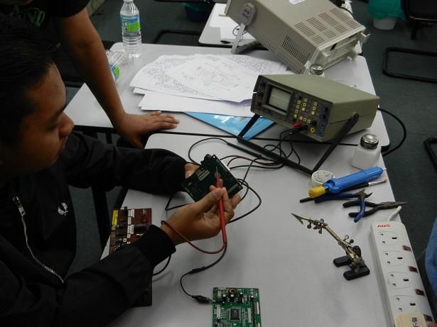 huntron 2000 electronic course