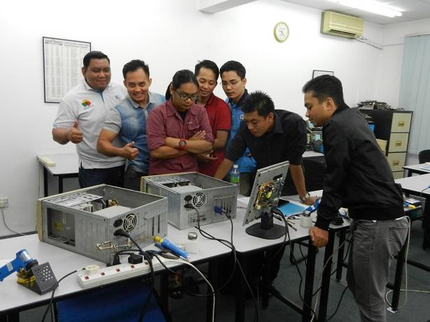 kursus membaiki teknologi elektronik