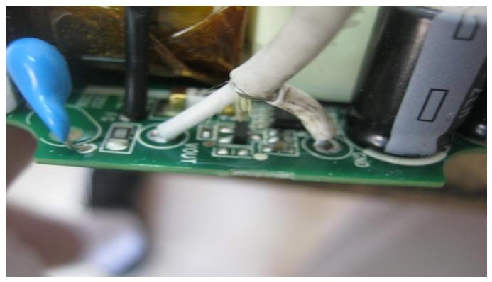 repairing apple power adapter