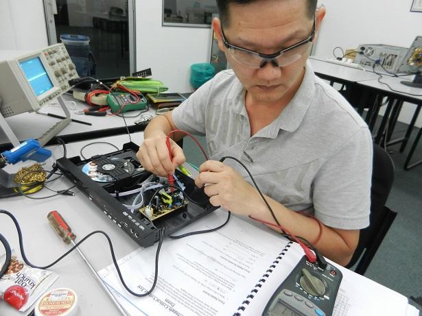 kursus membaiki repair elektronik malaysia