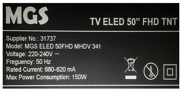 50 inch led tv repair