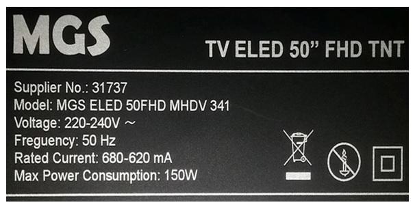 50 inch led tv repair