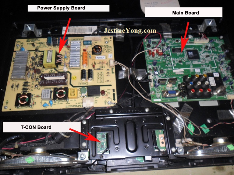 bg led tv fix