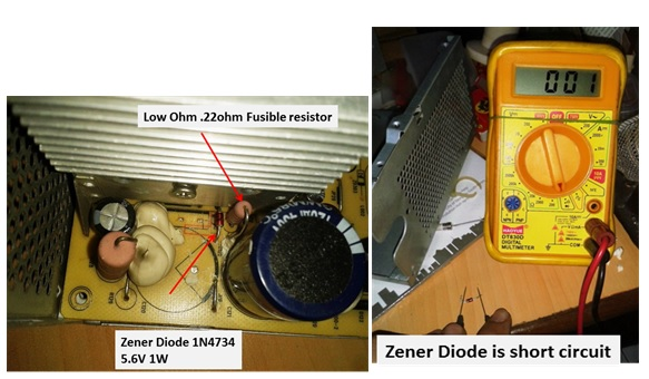 how to fix and repair power supply