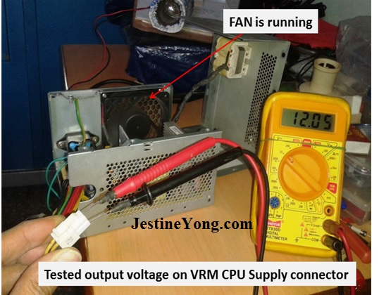 how to repair atx switch mode power supplies