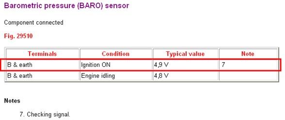 manifold barometric sensor repair