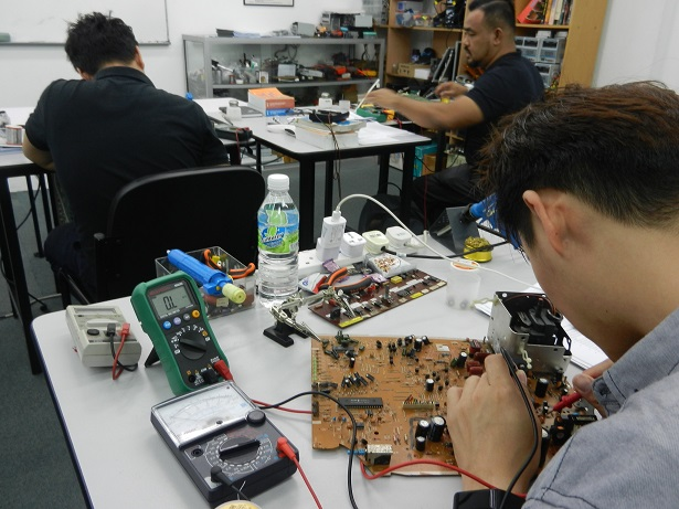 kursus repair elektronik