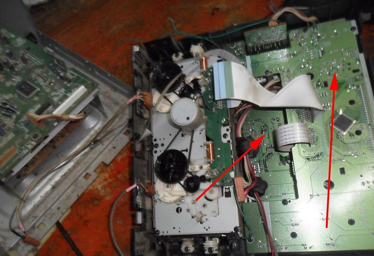 Pioneer Set up mainboard repair