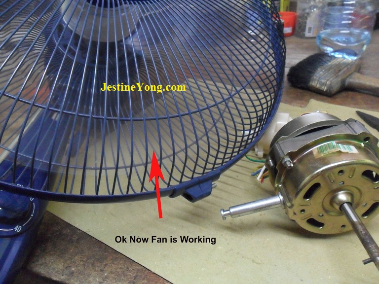 how to fix a fan