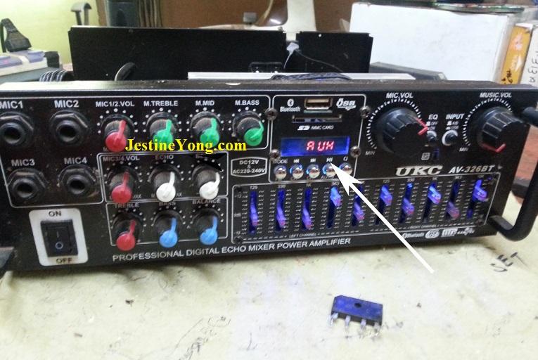 how to fix mixer amplifier