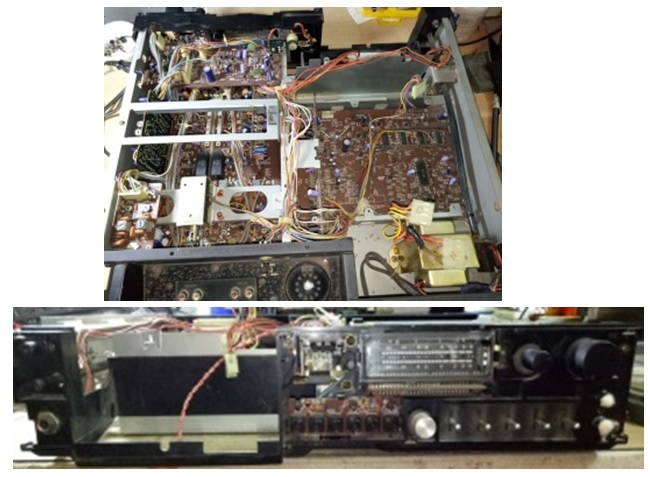 how to fix technic tape deck