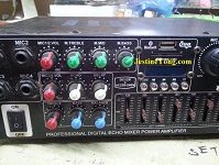 how to repair and fix mixer power amplifier