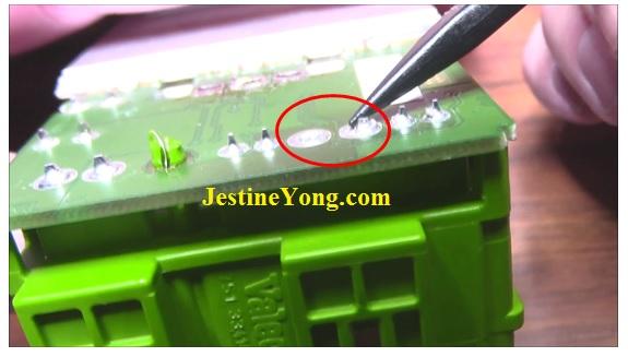 how to repair citroen fan module