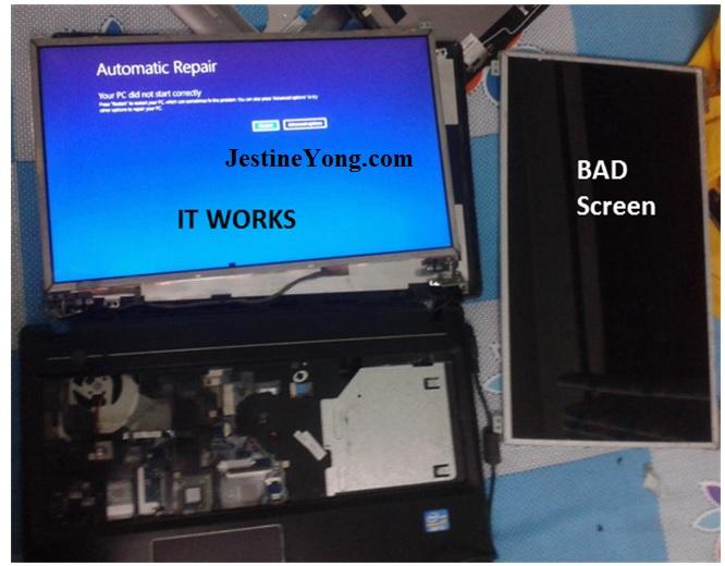 how to repair lenovo laptop