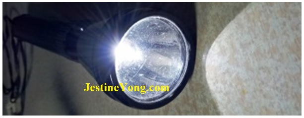 how to repair torch light