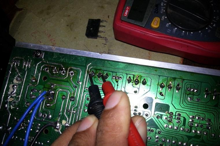 mixer power amplifier fix