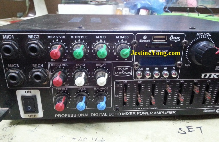 How To Repair Mixer Power Amplifier | Electronics Repair And