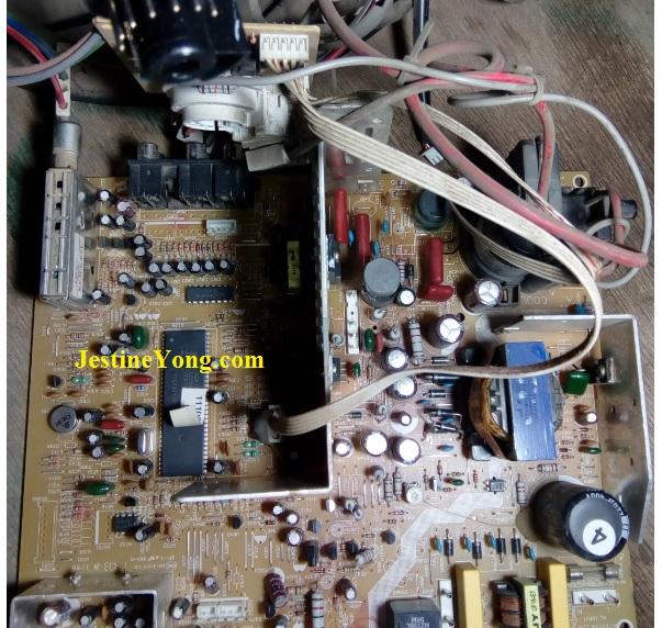 repairing crt tv