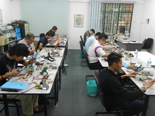 basic electronics training