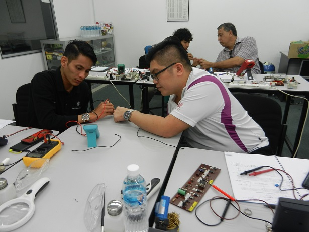 technical training in electronics repair