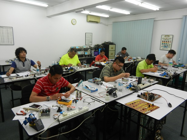technical training in electronics