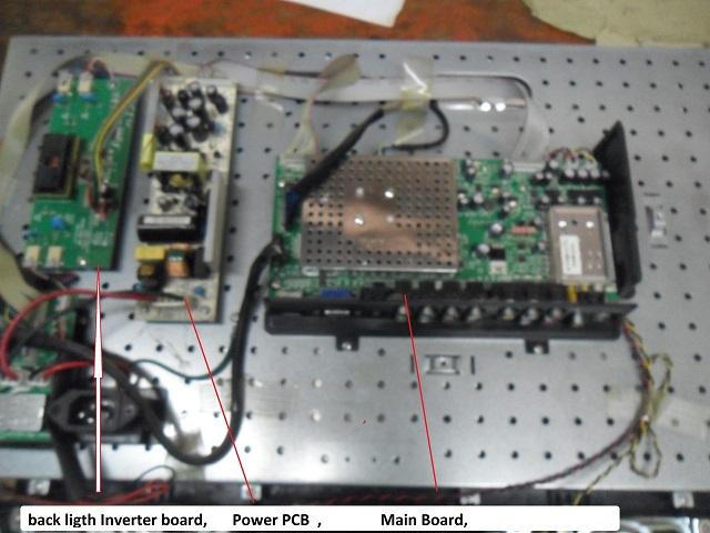 Eurostar LCD TV No Back Light