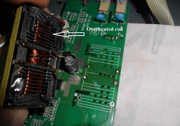 bad inverter transformer