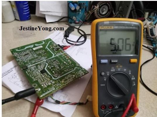 dell lcd monitor 5 volt