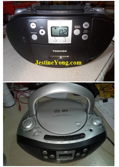 how to repair toshiba cd player